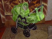 Детская коляска джип